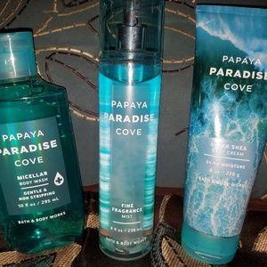 Bath & Body Works Other - BBW Papaya Paradise Cove
